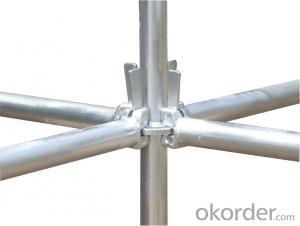 Galvanized Ringlock Scaffold System Q235/345 Steel Galvanized