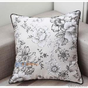 High Density Memory Foam Sofa Cushion with Printing