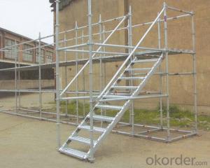 Ringlock Scaffolding Vertical Q235/345 Steel Galvanized