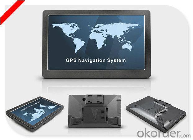 7 inch Car GPS with DVR and Radar Detector Slim GPS Navigation
