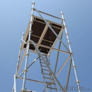 Used Ringlock Scaffolding Easy Assembly Top Quality Metal