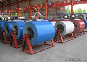 Prepainted aluminum Zinc Rolled Coil for construction