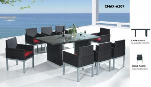 Rattan Garden Furniture Dining Set CMAX-A207