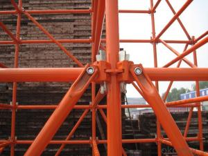 Ringlock Scaffolding Diagonal Brace Easy Assembly Top Quality Metal