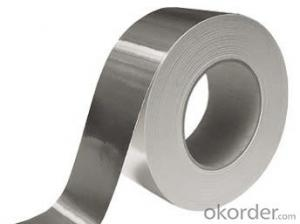 Fireproof Aluminum Foil Tape Synthetic Rubber Based Promotion