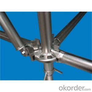 Galvanize Ringlock Scaffolding Q235/346 Steel Galvanized