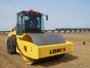 LISHIDE BRAND SINGLE DRUM ROAD ROLLER RM207