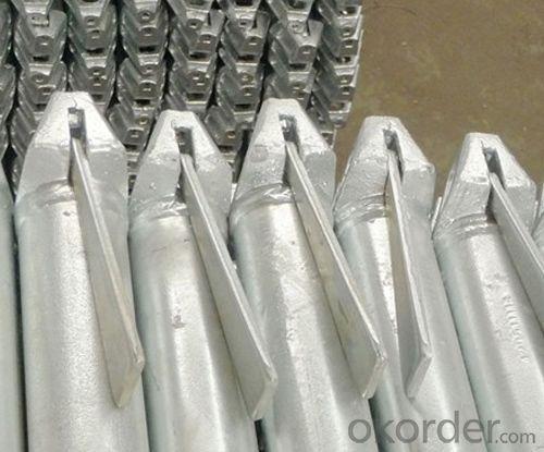 Used Ringlock Scaffolding Q235/353 Steel Galvanized