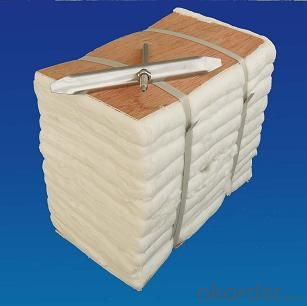 Thermal insulation refractory ceramic fiber module