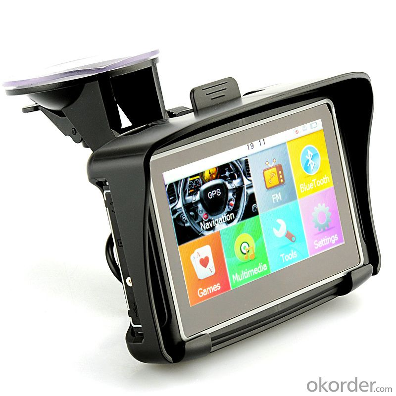 Waterproof 4.3 Inch Touch Screen Motorbike GPS Navigation