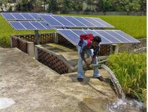 Tons/h Flow Solar Water Pump for Irrigation with IP68 Rating