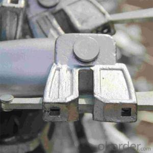 Steel Ringlock Scaffolding System Q235/347 Steel Galvanized