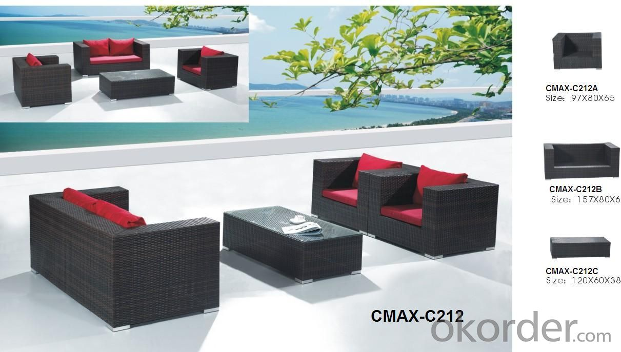 Rattan Sofa set Outdoor Furniture CMAX-C212