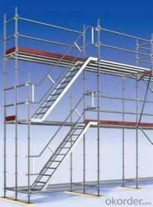 Steel Ringlock Scaffolding System Easy Assembly Top Quality Metal