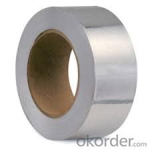 Self Adhesive Aluminum Foil Tape Heat ResistanceSynthetic Rubber Based Promotion