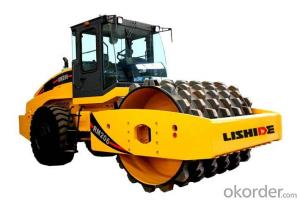 LISHIDE BRAND SINGLE DRUM ROAD ROLLER RM206K