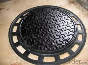 Manhole Cover Bituminous Paints En124 D400 Heavy Duty Ductile Iron