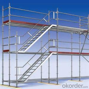 Layher Ringlock Scaffold Q235/345 Steel Galvanized