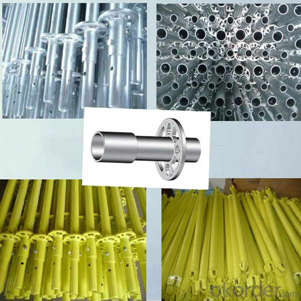 Steel Ringlock Scaffolding Easy Assembly Top Quality Metal
