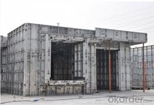 Whole Aluminum Formwork  System for Supermarket Building