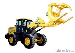LISHIDE BRAND TIMBER GRAB LOADER CL35