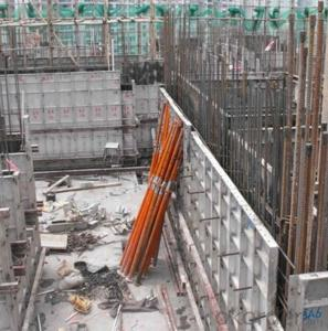 Aluminum Formwork System for 30 Levels Building Construction