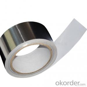 Solvent based acrylic Aluminum Foil Tape Synthetic Rubber Based Discount