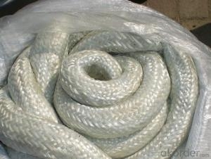 Fire Resistant Ceramic Fiber Round Braided Rope