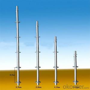 Ringlock Scaffold Diagonal Brace Q235/348 Steel Galvanized