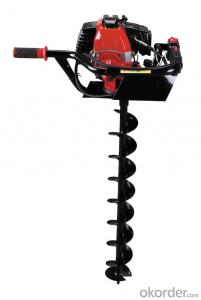 80cc ground driller power auger(CQ594) Made In China E56