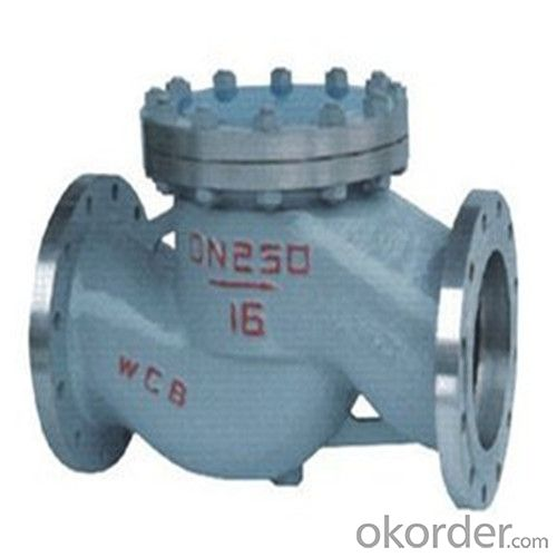 API Cast Steel Lift Check Valve Size 700 mm