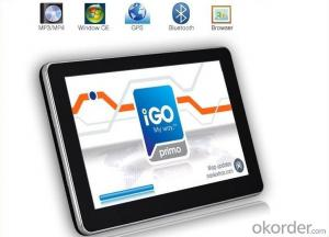 5 inch Car GPS Navigator CPU MTK800 FM 4GB 3DMAP DDR 128M