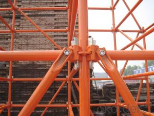 Galvanize Ringlock Scaffolding Easy Assembly Top Quality Metal