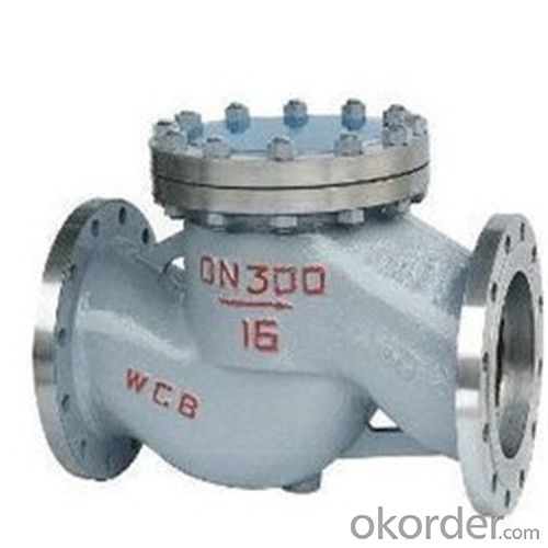 API Cast Steel Lift Check Valve Size 750 mm