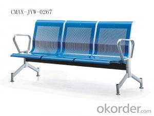 Stainless Steel Waiting Chair with Professional Workmanship CMAX-JYW-0338