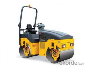 Light Road Roller SZT30 Double Drum Roller Mini Road Roller