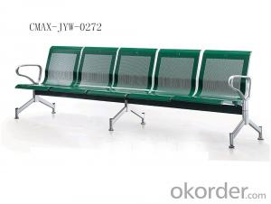 Public Waiting Chair with Shinning Red Color  CMAX-JYW-LC089