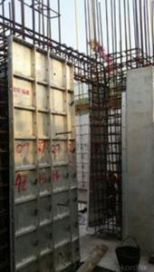 Aluminum Formwork System for Concrete House Casting