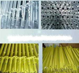 Steel Ringlock Scaffolding Q235/355 Steel Galvanized