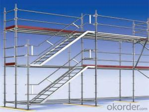 Ringlock Scaffolding Tower Q235/345 Steel Galvanized
