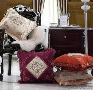 Painting Cushion for European Luxury Furniture