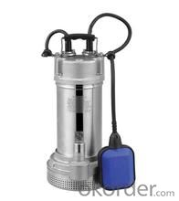 Q(D)X-S Stainless Steel Casting Submersible Water Pump
