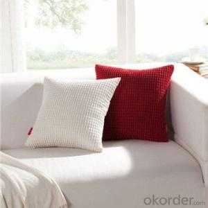 sofa cushion with various colors and patterns
