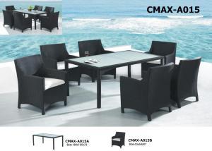 Outdoor Furniture PE Rattan Furniture Dinning Set CMAX-A015