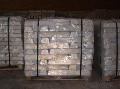 Magnesium Ingot 99.90% 99.95% of Magnesium Content High Purity