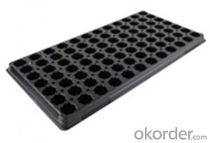 Plastic Seed Tray for Green House Nursery Plug Tray Square Plug Tray