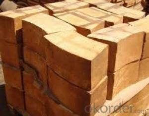 Straight Refractory Bricks Low Thermal Conductivity