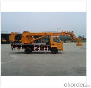 Truck Crane with Max Lifting Capacity 6 Tons Mobile Crane