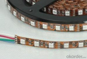 Rgbw led strip light 4 colors in 1 led 60led/m, 84led/m, 96led/m DC12V/24V