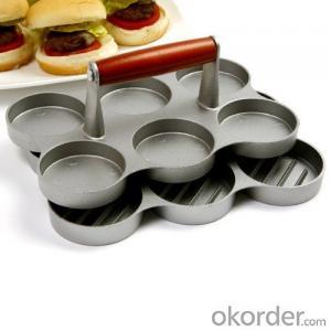 Mini Hamburger Meat Press Single Aluminum Hamburg Press